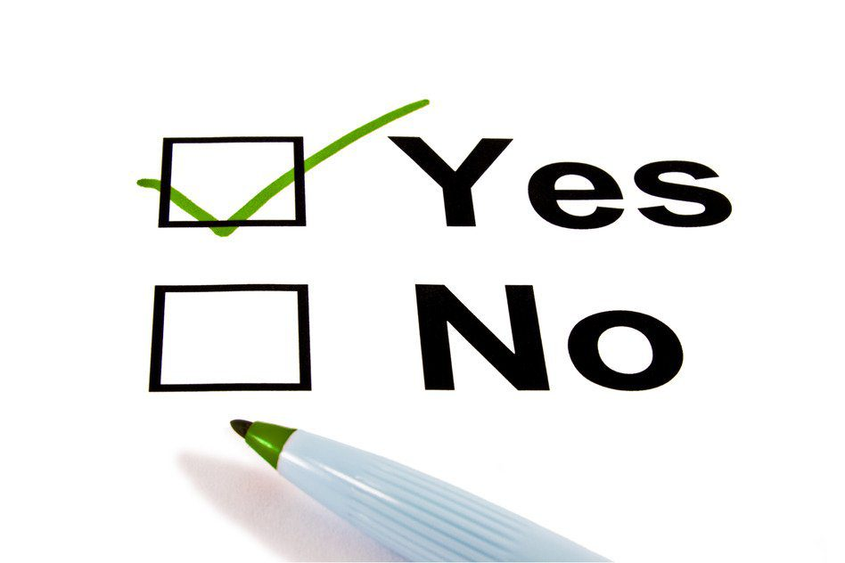 free clipart vote yes - photo #18